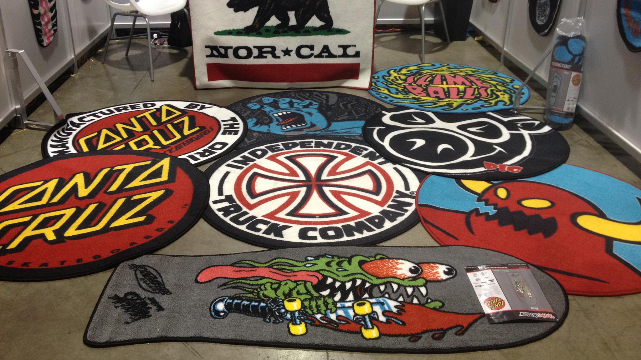 Skate rugs