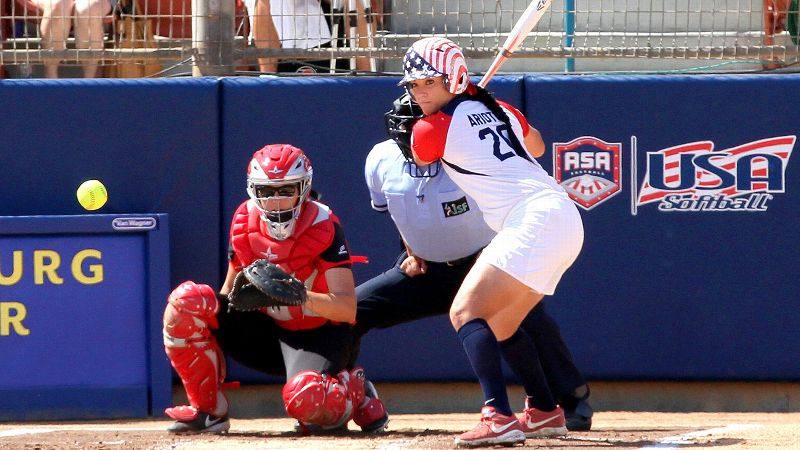 Valerie Arioto, who is in her fourth summer with Team USA, reinforced her reputation as the best power hitter in international softball with five home runs in the World Cup of Softball.