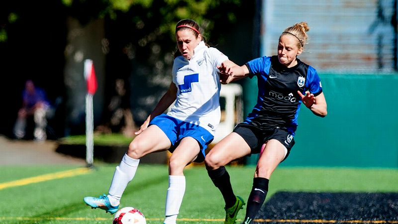 Heather O'Reilly is trying to use her leadership to keep the Boston Breakers' spirits up amid a difficult season.