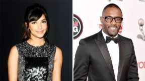 Hannah Simone and Idris Elba