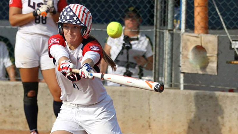 Center fielder Haylie McCleney is a versatile and valuable run producer for the United States.