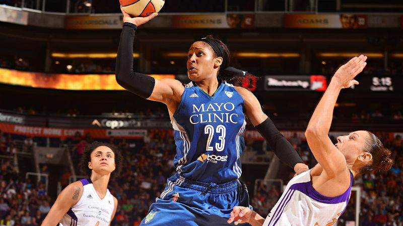 Maya Moore started her fourth WNBA season on a tear, scoring at least 30 points in each of the first four games of the season. The forward's offensive fireworks helped Minnesota mitigate a series of injuries that threatened to derail the defending champs, who played significant stretches this year without core players. On many nights, Moore simply kept the Lynx in the game, which allowed Minnesota to maintain its status as one of the WNBA's elite teams. While Moore couldn't maintain her blistering scoring pace -- she is averaging a slightly more human 24.2 PPG -- she has consistently proved to be the most dangerous scoring threat in the WNBA. And the milestones keep coming. Moore set the team's single-season scoring record (773 and counting) and the WNBA mark for 30-point games in a season (12). In July, she pushed her single-game career high to 48 points, the second-highest scoring game in league history. In truth, Moore could have been the MVP last season, but Candace Parker won it. This season, there's not much to argue about. We might be watching the best player in the world reaching the peak of her powers. And it could well lead the Lynx to their third title in four seasons. i-- MS/i