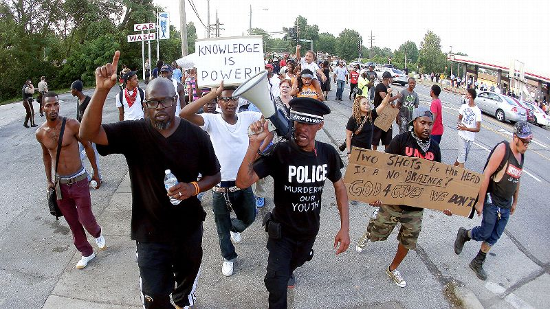 Ferguson, Mo. protests