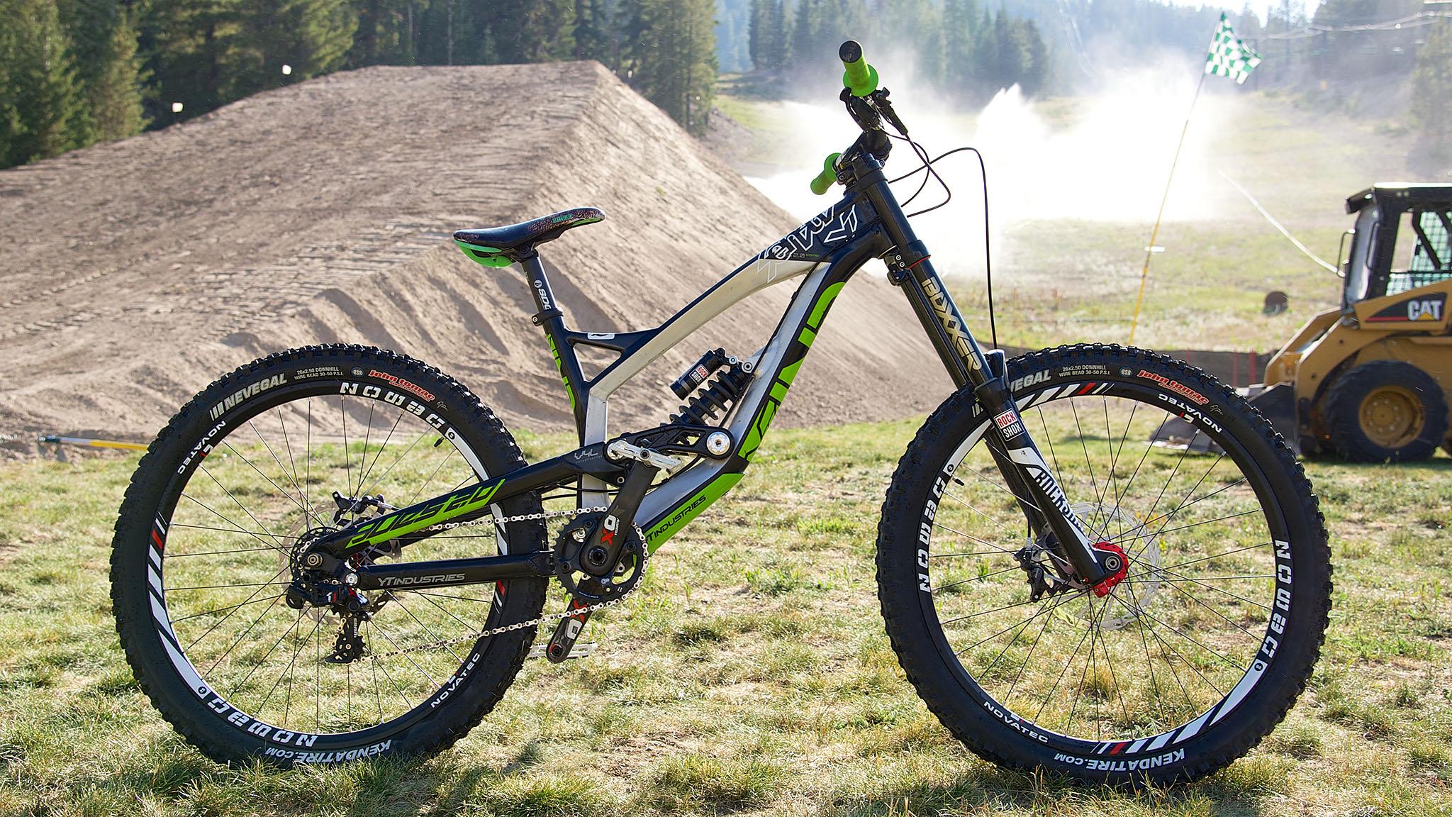 Cam Zink's Mammoth bike build
