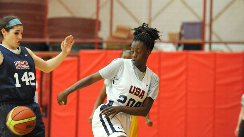 Destinee Walker, who scored a team-high 18 points for Team USA against El Salvador earlier this month, showed flashes of brilliance at the FIBA Americas U18 Championship.