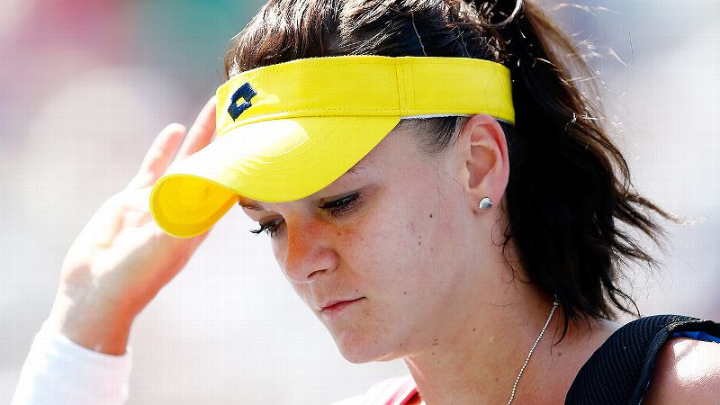 The No. 4 seed was the first of many to go. After winning the title on the hard courts in Montreal earlier this month, Radwanska came to New York looking for her first major title. It didn't happen. She managed to win just seven games against unseeded Peng Shuai on Wednesday in the second round at the US Open.