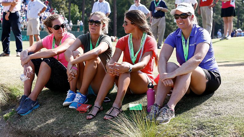 Brittany Lang, Jaye Marie Green, Belen Mozo and Brittany Lincicome are all prolific social media users, but only two of the LPGA stars received honors in this month's edition.