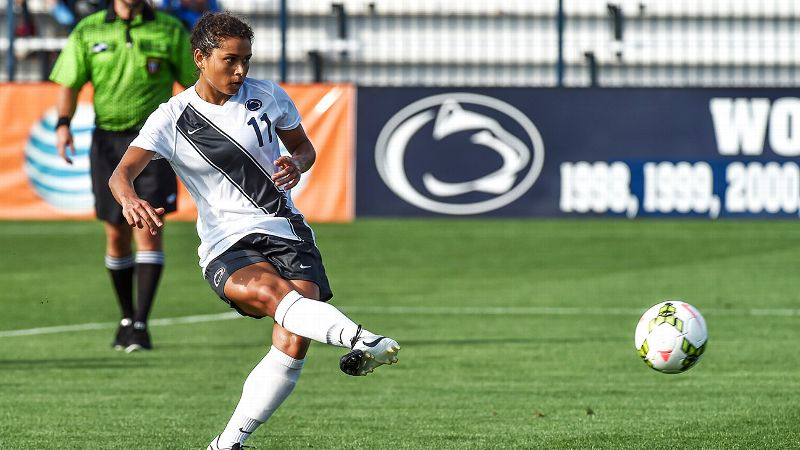 Raquel Rodriguez, who helped lead Penn State to the national title game in 2012 as a freshman, is the engine that makes the team go.