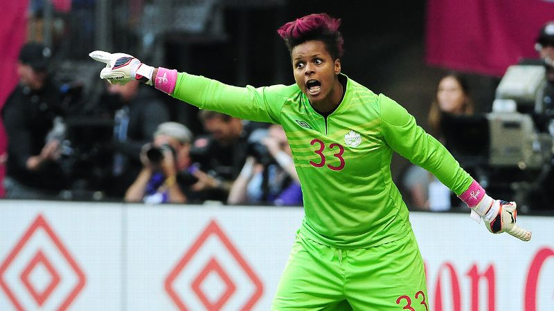 Karina LeBlanc and the Canadian national team won the bronze medal at the 2012 London Games.
