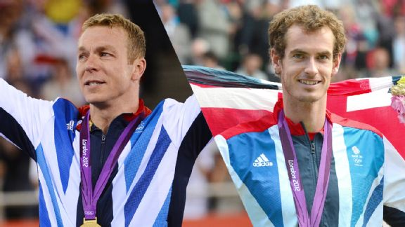 Sir Chris Hoy and Andy Murray are two Scottish athletes who made history at the Games for the UK.
