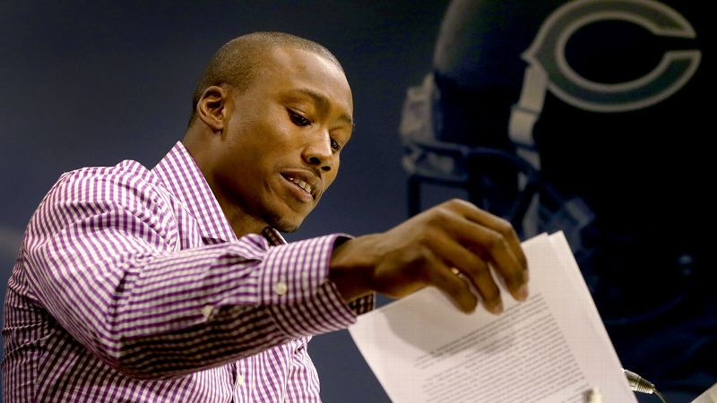 For several years, Brandon Marshall was part of the NFL's problem, his run-ins with the law including several domestic violence incidents. Now he's one of the league's biggest mental heath advocates.
