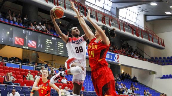 In exhibition play, Nneka Ogwumike and Team USA beat China and Australia before losing to France.