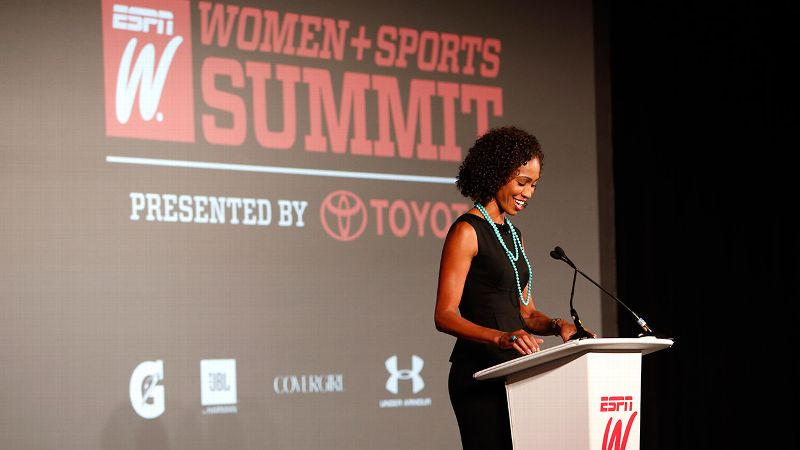 2014 espnW Women  Sports Summit: Sage Steele