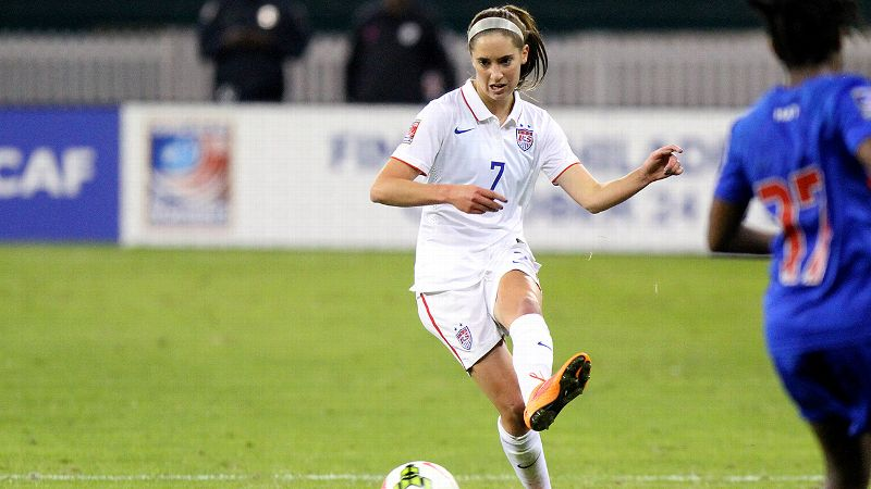 Still a college senior, Morgan Brian has already earned 14 caps with the U.S. women's national team, and some on the team think she could start for them right now.