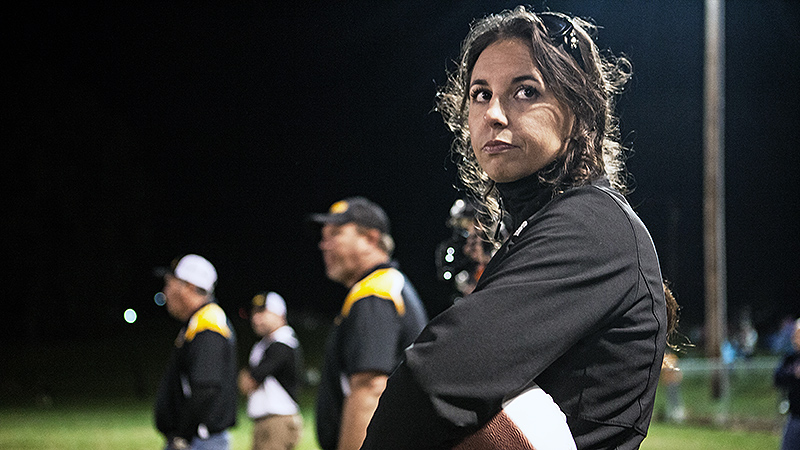Much of what Brittney Garner knows about football she's learned from playing Madden. But that didn't stop her from stepping up when the football program at Pickett County was on the verge of elimination.
