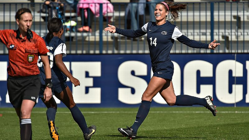 Kori Chapic helped Penn State capture the Big Ten regular-season title, scoring both of her team's goals in a 2-1 win against Iowa and assisted on two of the three goals in a 3-1 win against Nebraska.