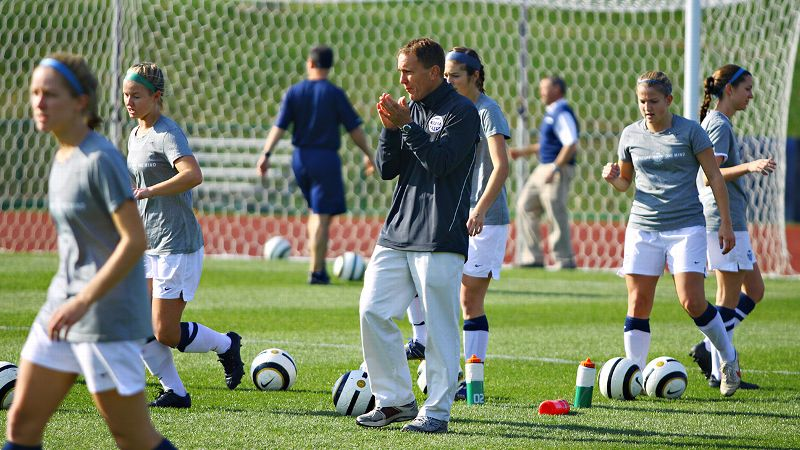 NCAA Women's Soccer Coach Scott Frey has lost just 17 games in nearly 15 full seasons at Messiah College.