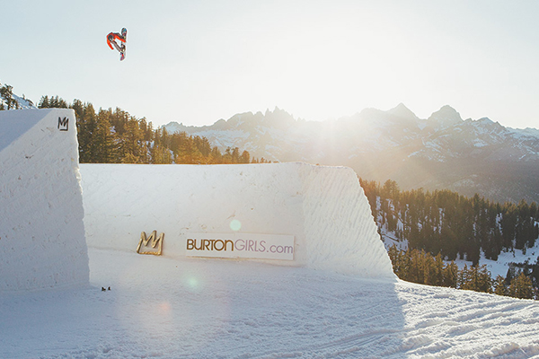 Fasani leads the charge at the all-women's spring photoshoot event she created in Mammoth, California: Kimmy Fasani's Amusement Park.