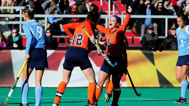 Syracuse vs UNC field hockey