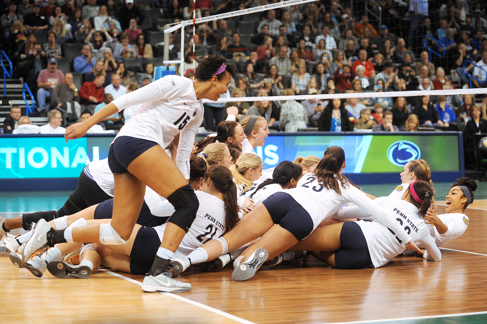 NCAA Volleyball Final: Penn State Celebrates