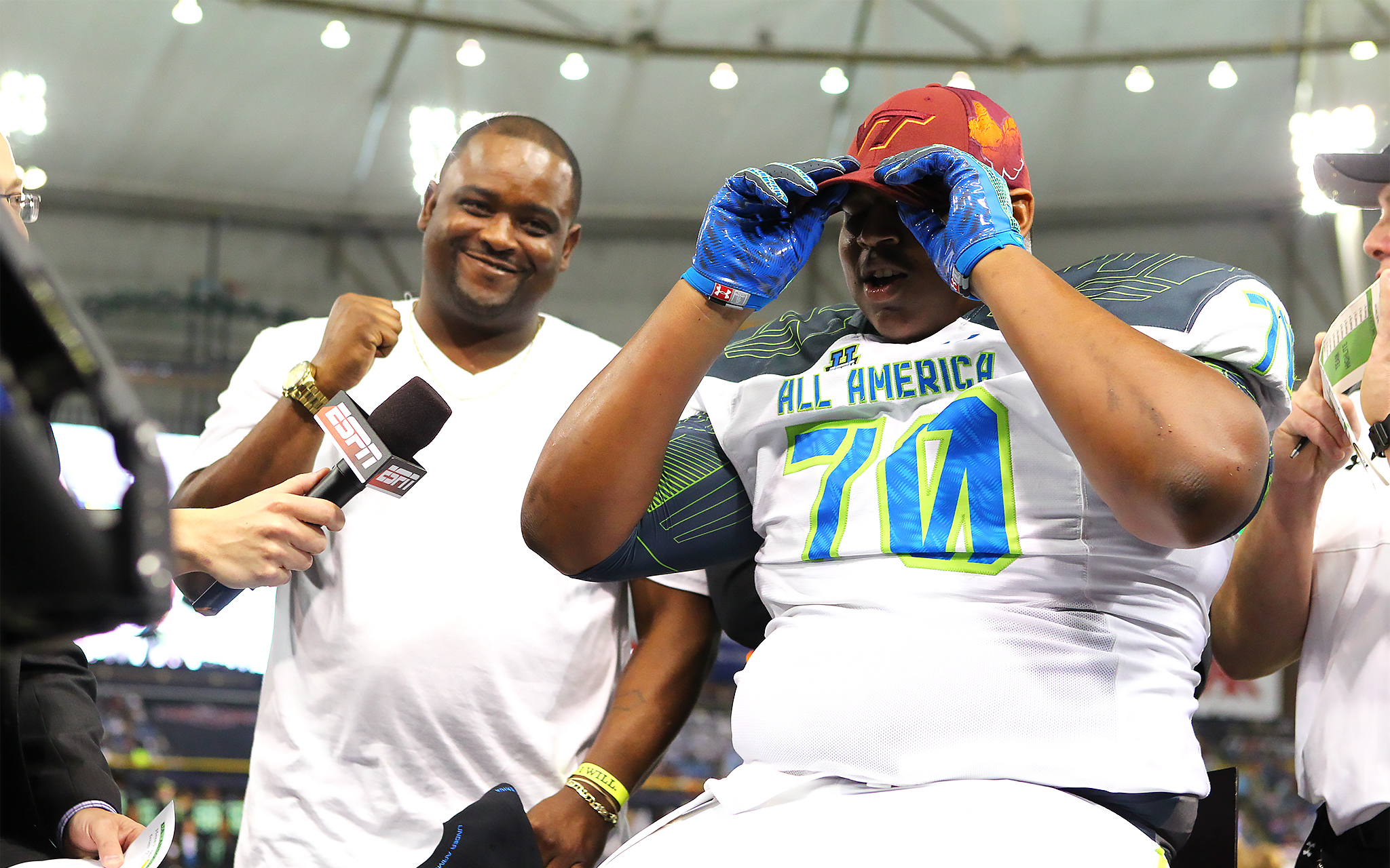 Tim Settle - 2015 Under Armour All-America Game - ESPN
