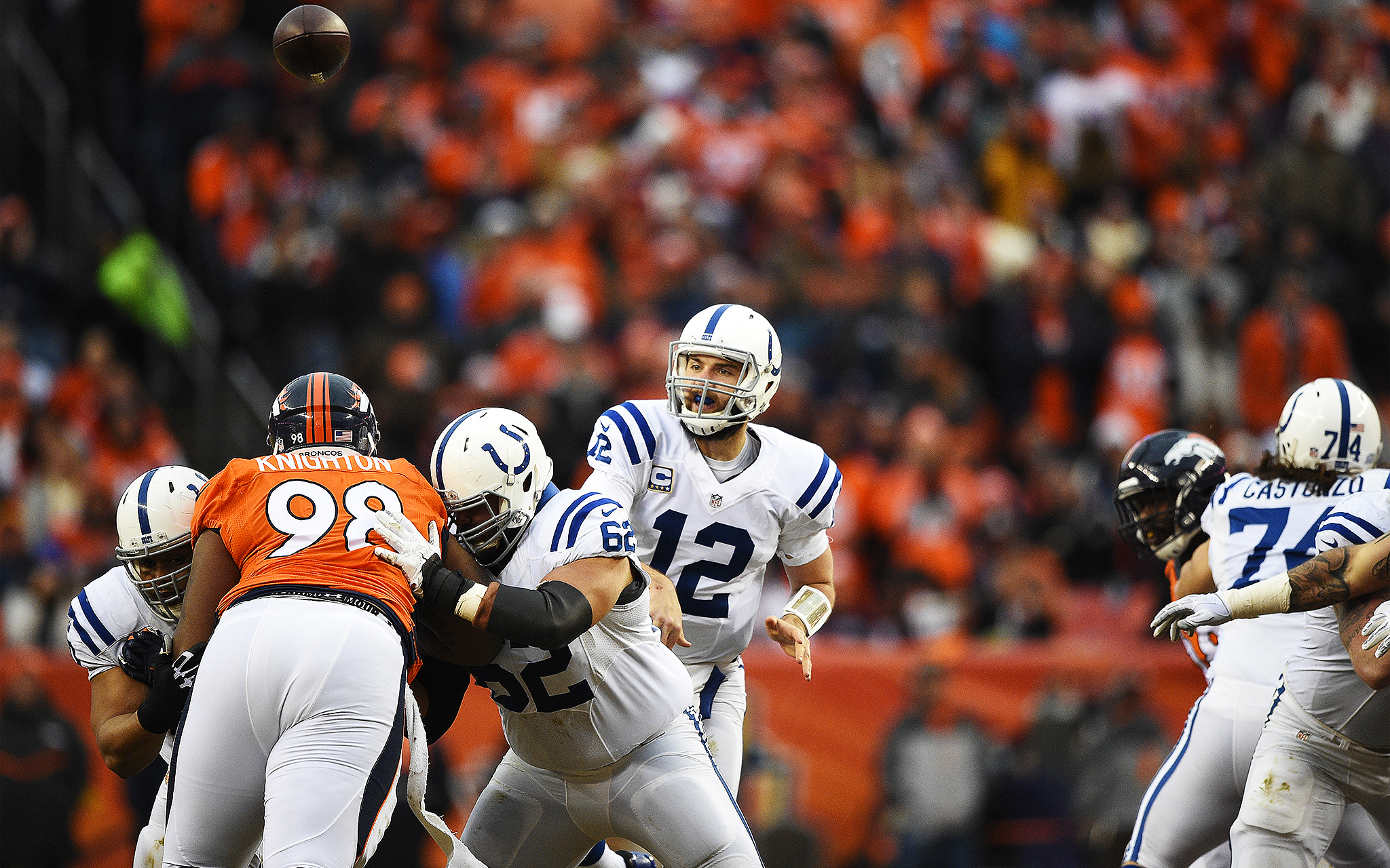 2048 x 1280 · 2027 kB · jpeg, Andrew Luck - 2015 Divisional Playoffs ...