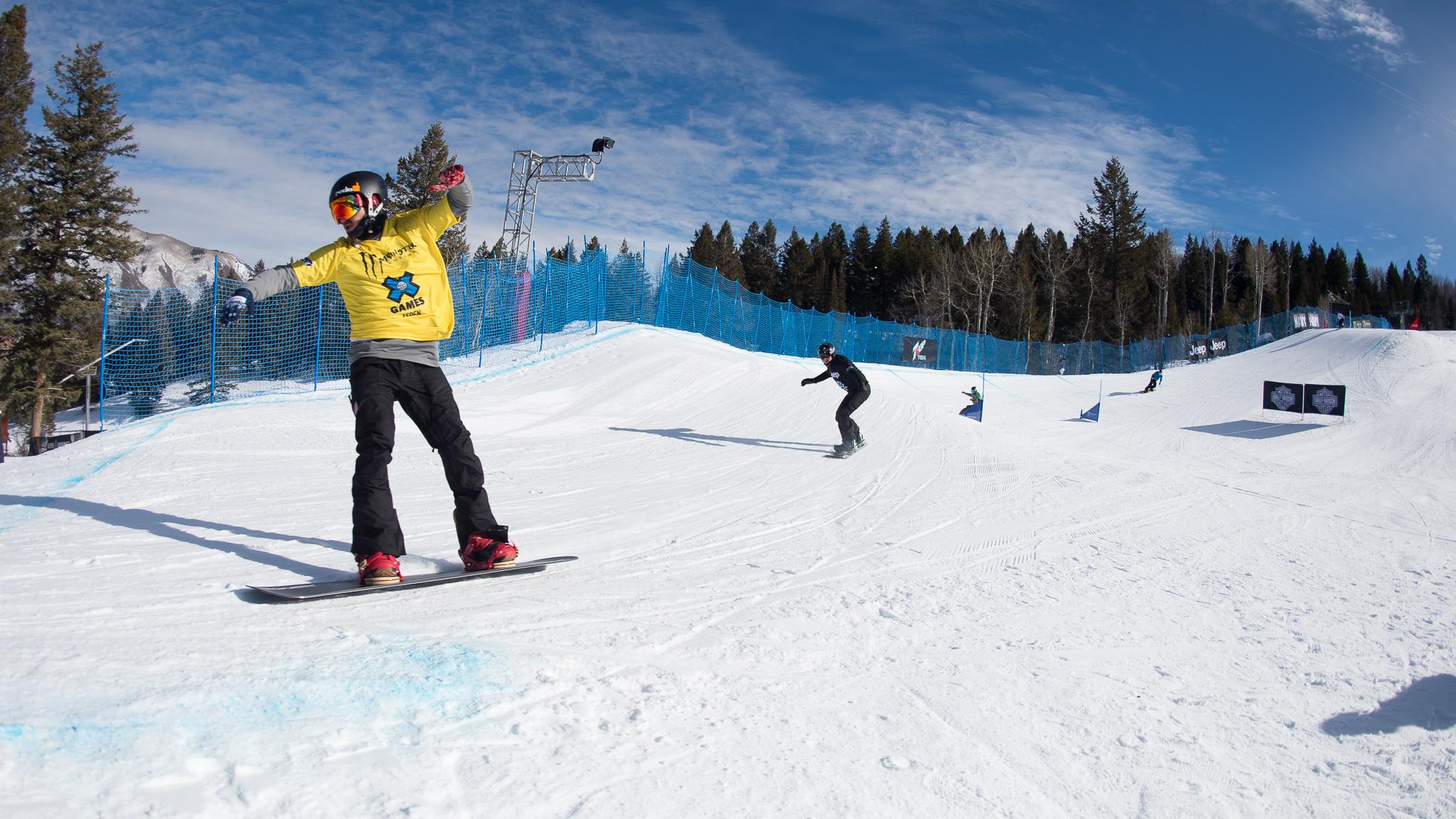 Adaptive Snowboarder X