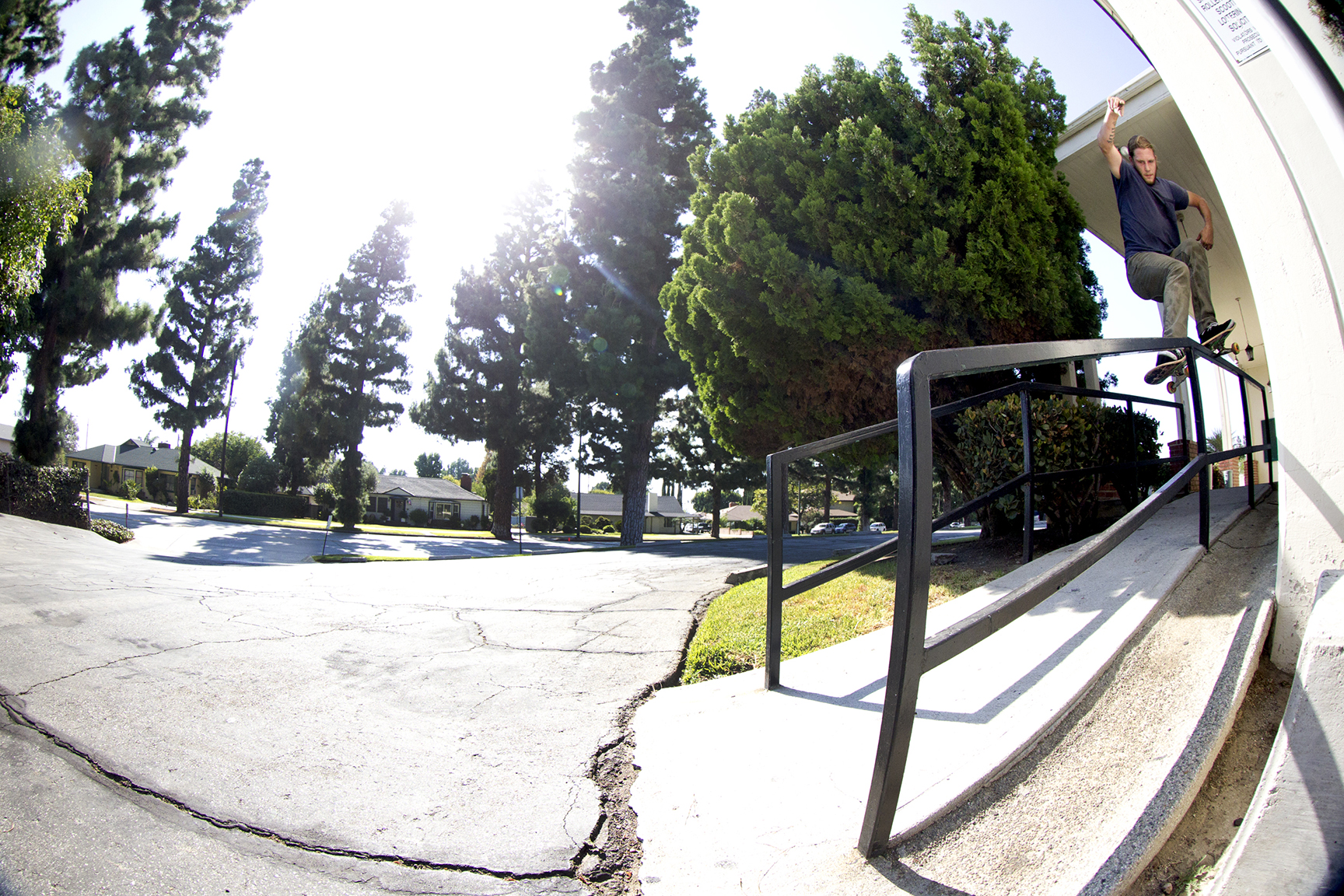 Jon Dickson, smith grind