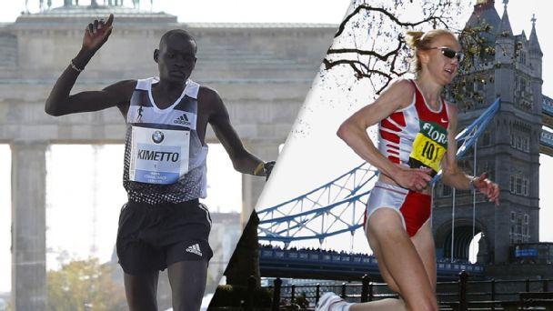 Dennis Kimetto, Paula Radcliffe