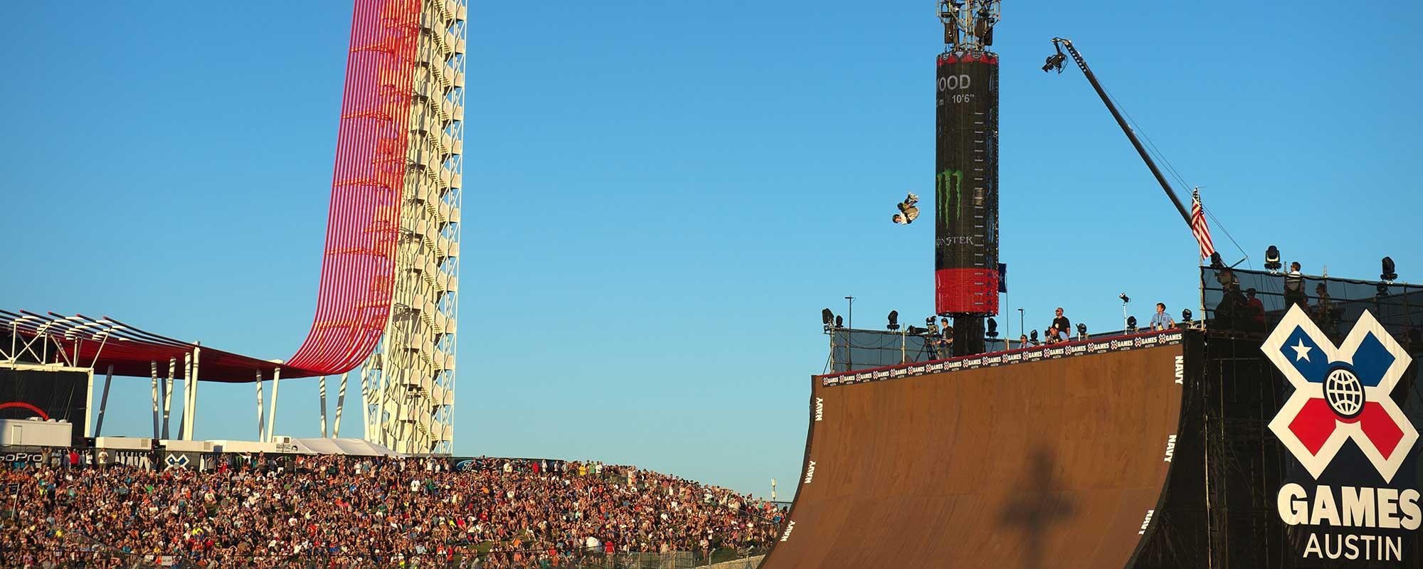 Trey Wood, X Games Austin 2014 Skateboard Big Air