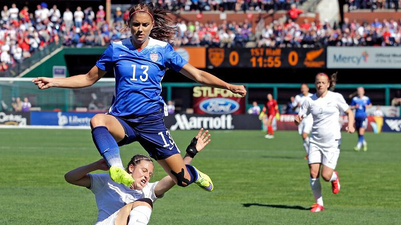 Alex Morgan, U.S. forward