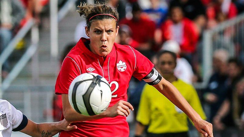 No. 4: Christine Sinclair, Canada, forward