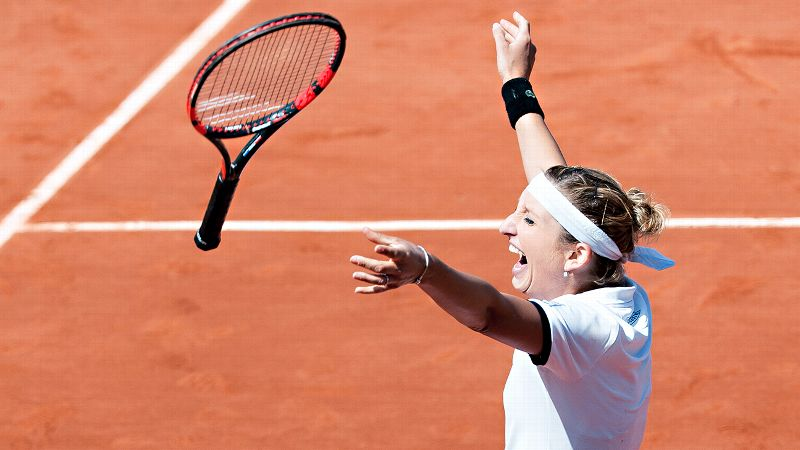Pic of the Day: Timea Bacsinszky on Day 11