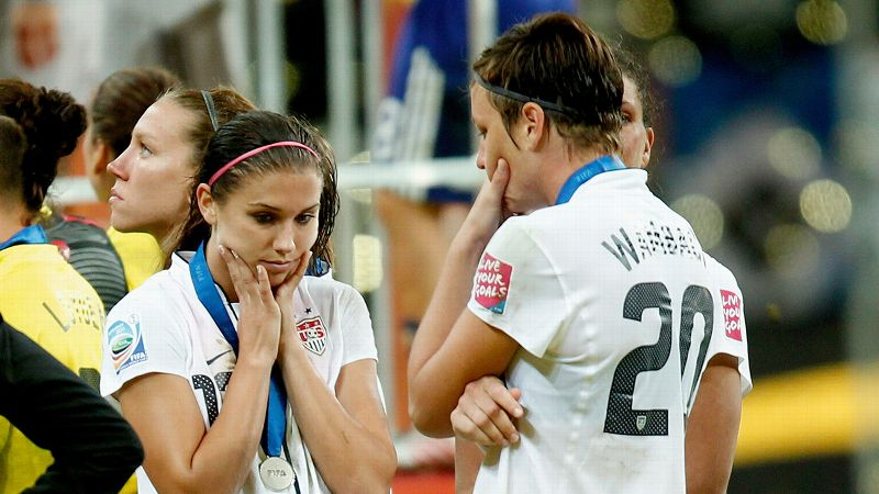 Alex Morgan and Abby Wambach