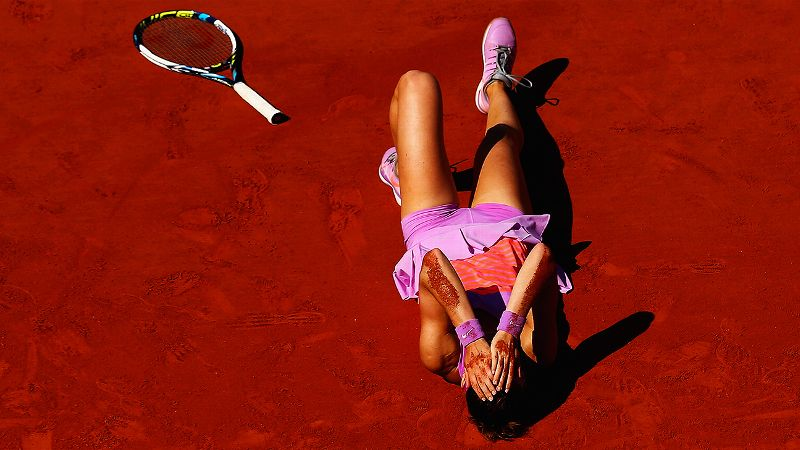Pic of the Day: Lucie Safarova on Day 12