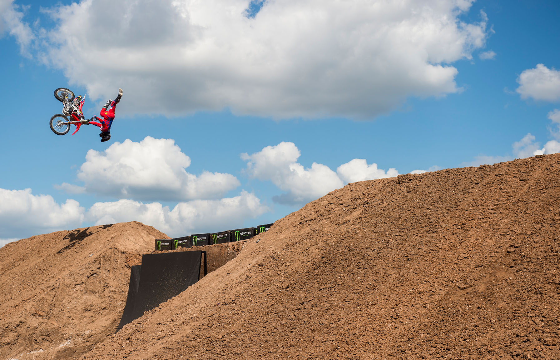Australian Josh Sheehan, 29, took bronze in the debut of Moto X QuarterPipe on Sunday. In April, Sheehan landed the first triple backflip in motocross history at Travis Pastrana's house in Maryland, but you weren't going to see the triple backflip here in Austin. Quarterpipe is fairly new in freestyle motocross, but we've got some massive tricks, says Sheehan.