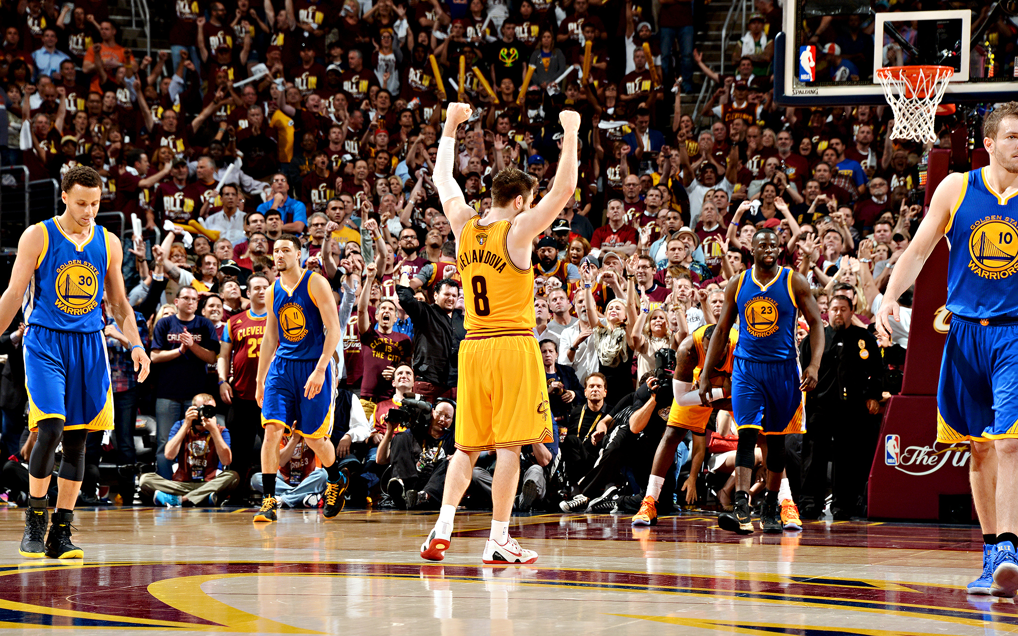 That winning feeling - The NBA Finals - Game 3 - ESPN