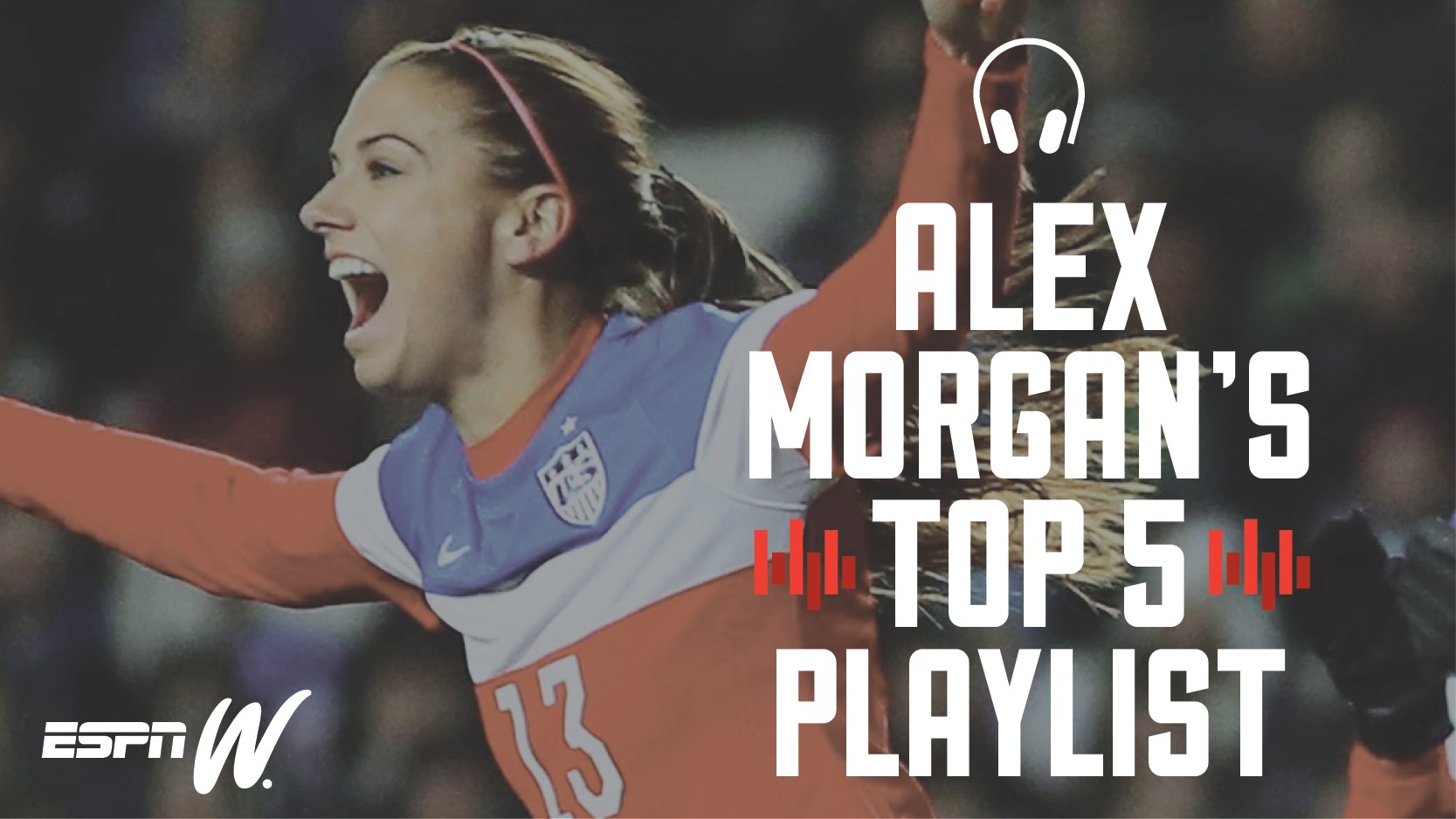 espnW Alex Morgan Playlist