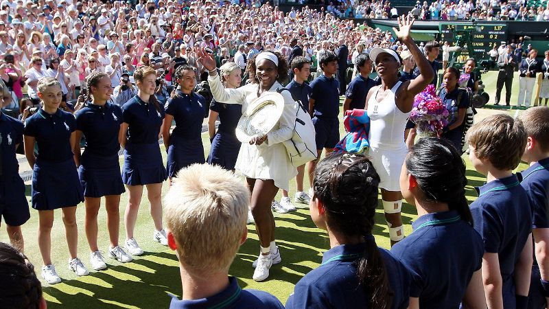 2009 Wimbledon final, Serena wins 7-6 (3), 6-2