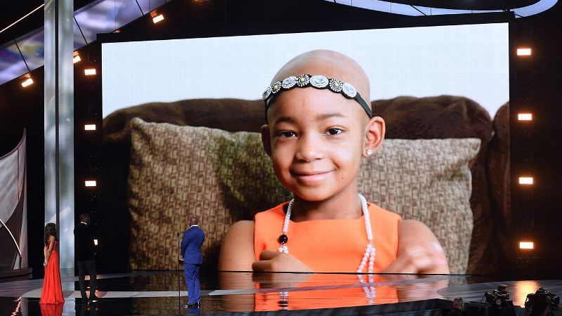ESPYS Devon Still and daughter Leah