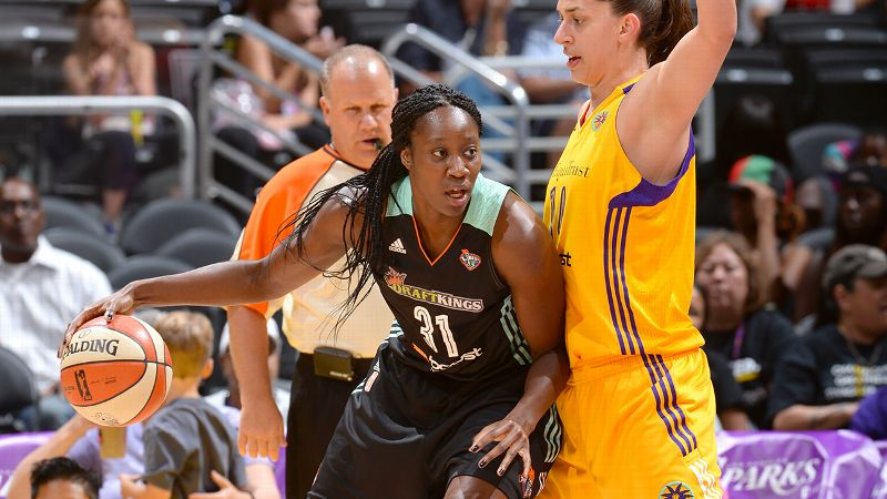 Tina Charles, New York Liberty, 6-4, center