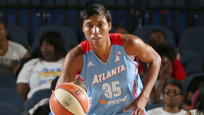 Angel McCoughtry, Atlanta Dream, 6-1, forward/guard