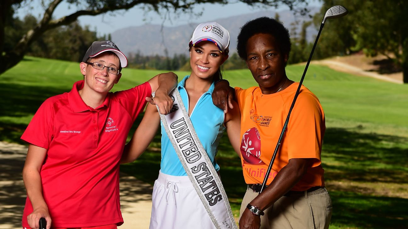 Loretta Claiborne, golf, Special Olympics World Games