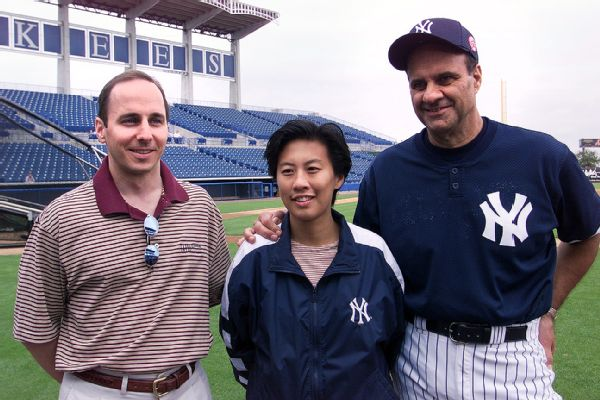 Brian Cashman, Kim Ng and Joe Torre