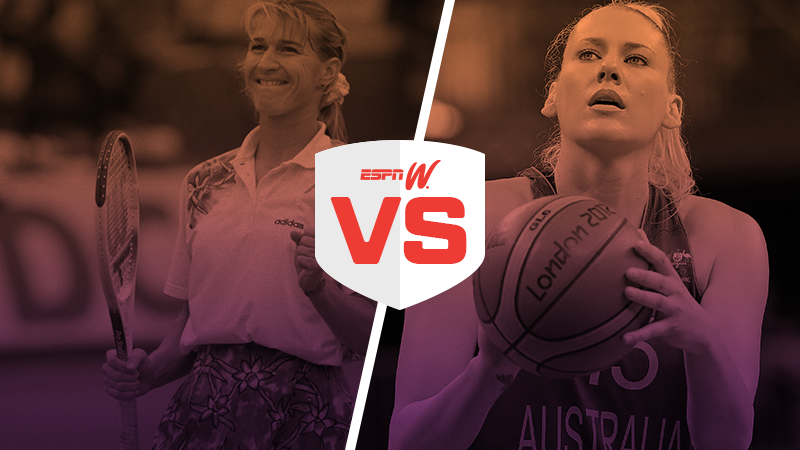 espnW Best Female Athlete Matchup Steffi Graf Lauren Jackson