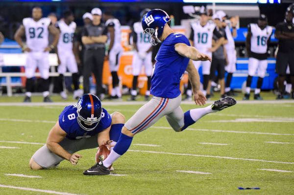 Giants kicker Josh Brown will be suspended for the season opener against the Dallas Cowboys.