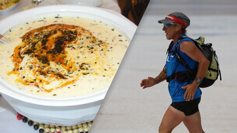 Shepherds Soup, left, and Ultramarathoner Bakiye Duran, right.