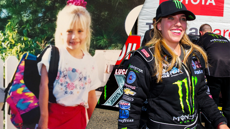 Brittany Force, NHRA Drag Racer