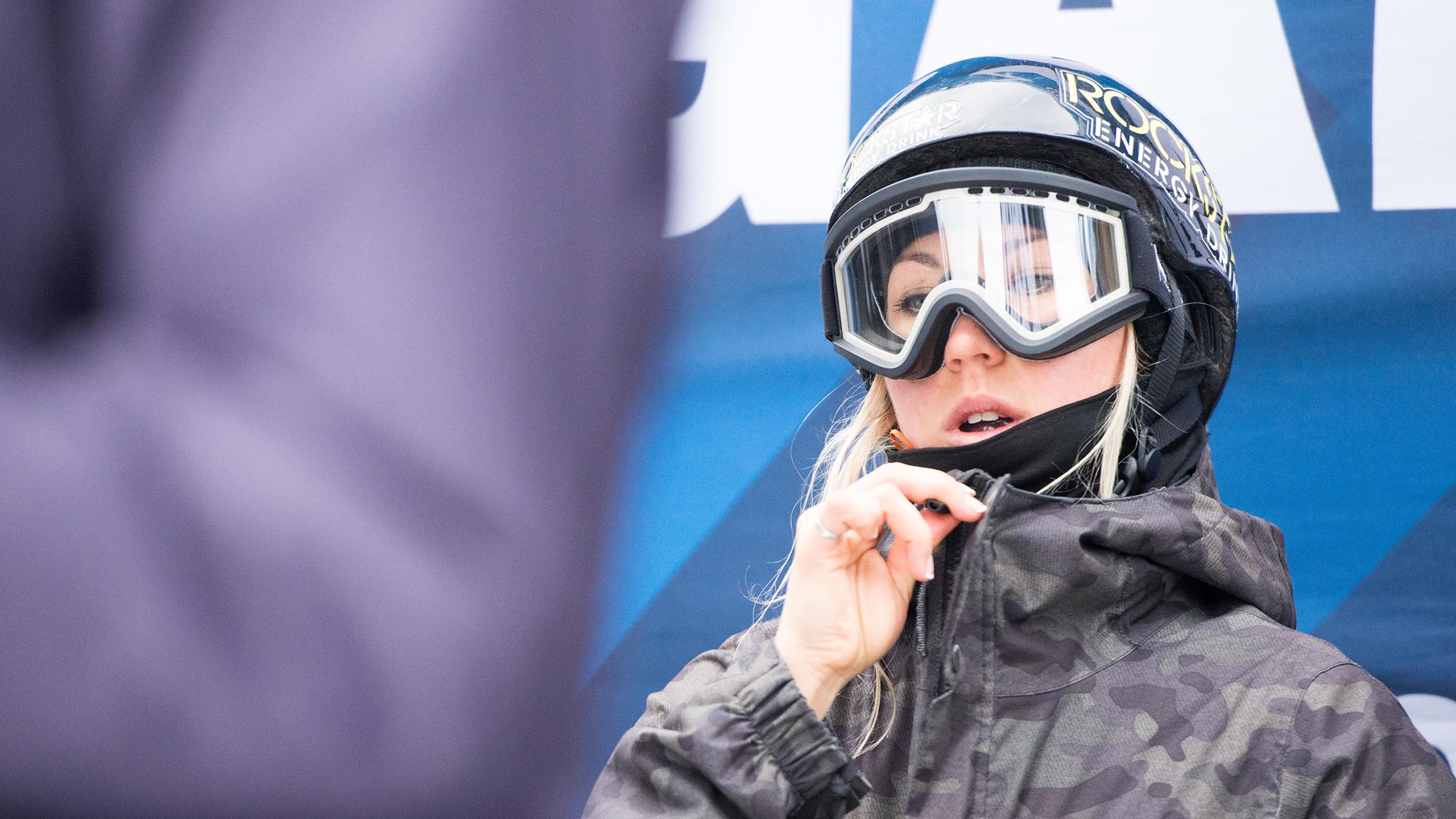 Snowboarder Christy Prior