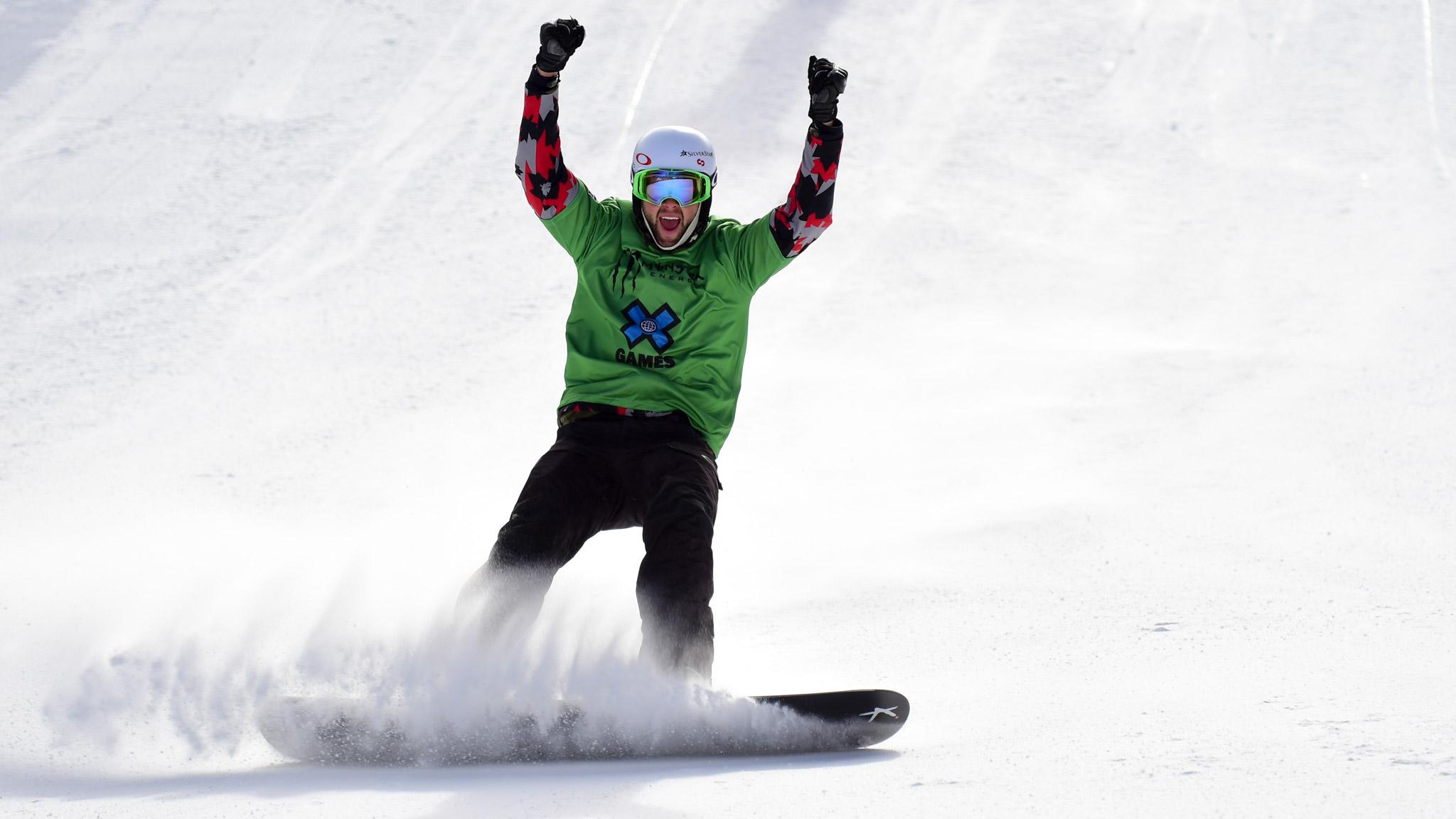 Men's Snowboarder X